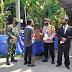 Babinsa Koramil 04/Pedan Himbau Tamu Undangan Hajatan Patuhi Protkes