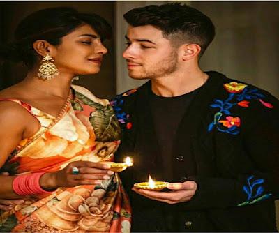 Priyanka Chopra with husband Nick jonas