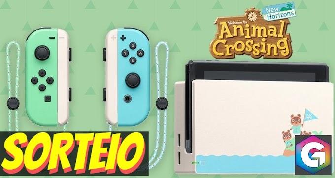 SORTEIO | Nintendo Switch Edição Limitada Animal Crossing: New Horizons - PARTICIPE!!