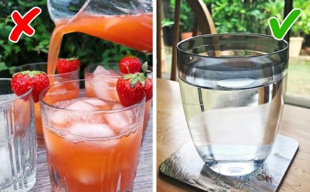 عدم شرب ما يكفِي من الماء