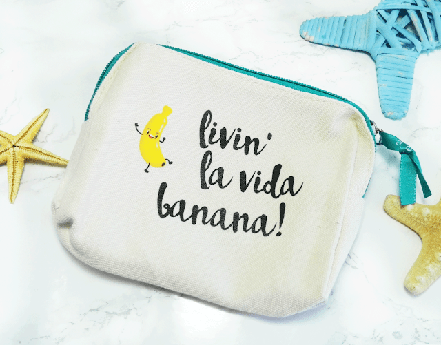 Essence Cubanita Trend Edition Cosmetics Bag 01 La Banana Cubana