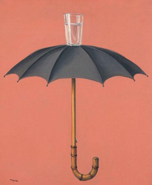 René Magritte - Les vacances de Hegel (1959)