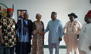 Senator Tinubu supports Ugwuanyi's re-election bid, inaugurates FG project in Enugu