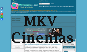 Mkv Cinemas 2020 Latest Bollywood Movie Download - Mkvcinema.in