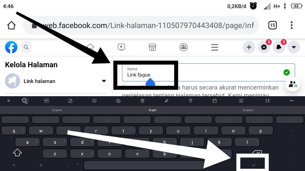 Cara menghapus Halaman Facebook