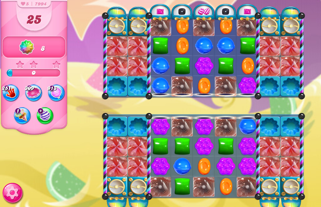 Candy Crush Saga level 7994
