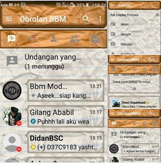 BBM Mod Tema Kimochi Kertas Lungset Versi Terbaru v3.2.0.6