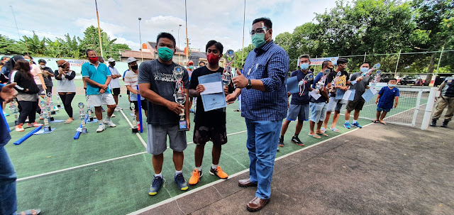 Turnamen Tenis Bupati Pati Cup 2020 Usai dan Sukses Digelar