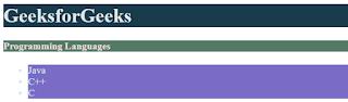 penggunaan warna hsl pada laman html