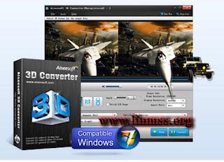 Aiseesoft 3D Converter 6.3.68 Multilingual + Crack  Full (22 MB)