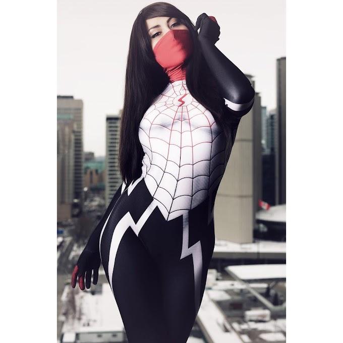 UndeadDu con su cosplay de Silk