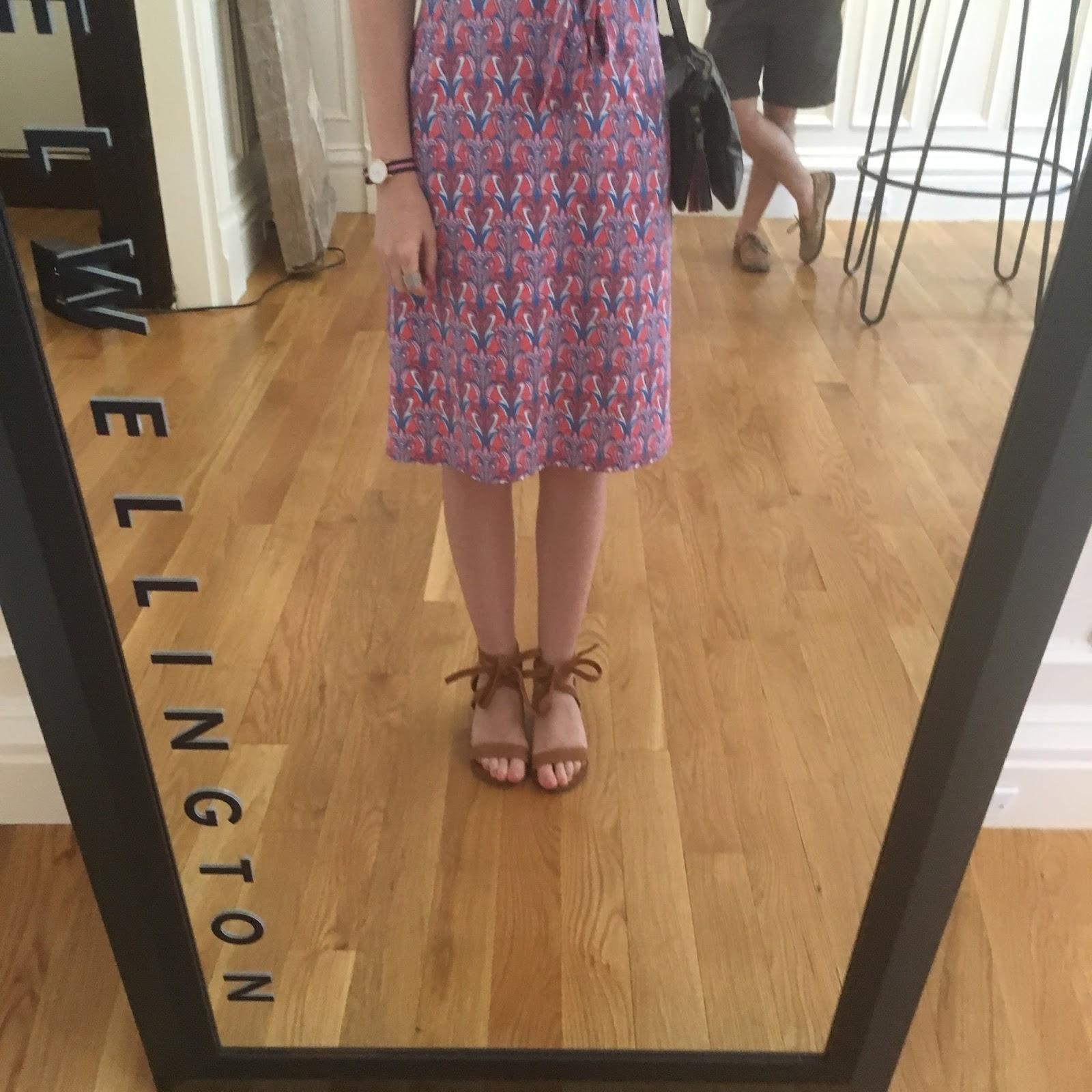 j mclaughlin print dress open newbury