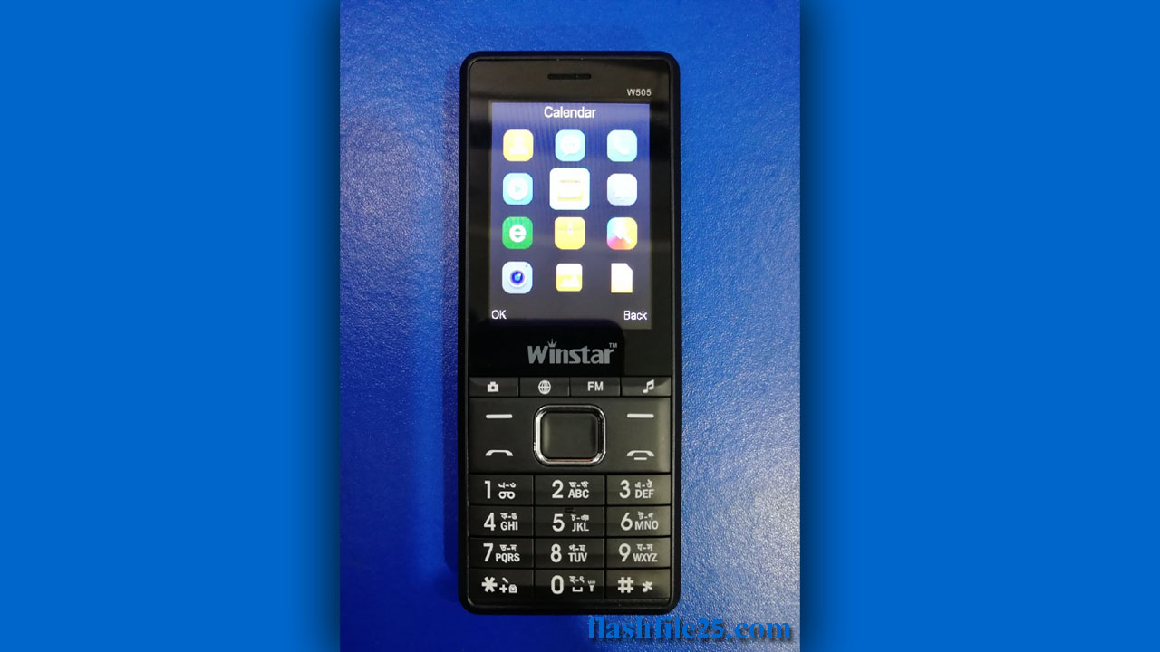 Winstar W505 flash file without password