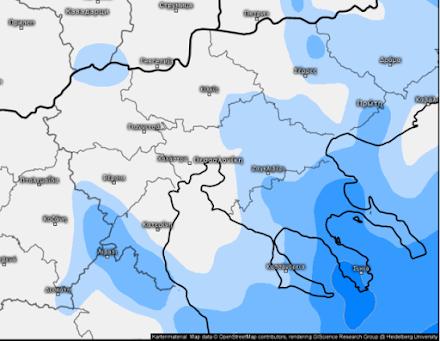 Ο καιρός αύριο στη Θεσσαλονίκη (27/01/2021)