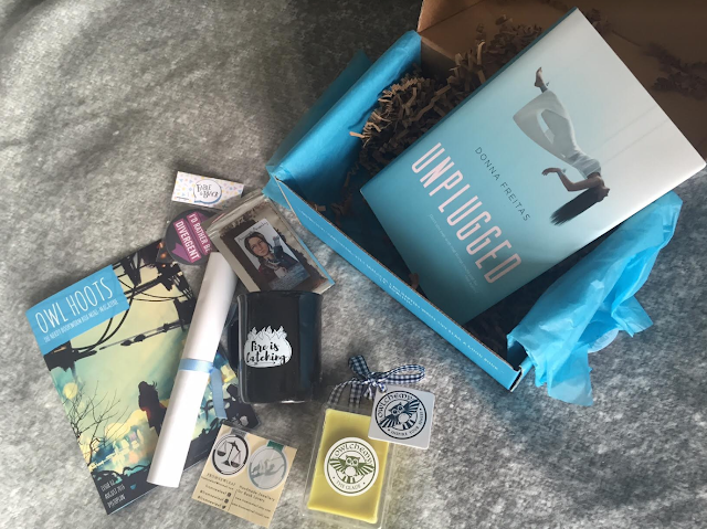 August Nerdy Bookworm Box