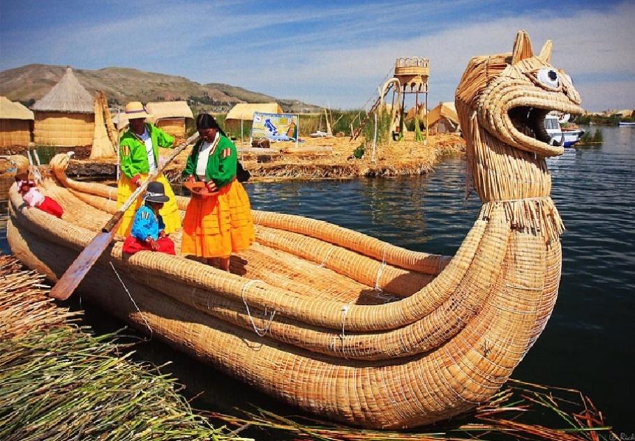 Uros, Sun People, Floating Islands