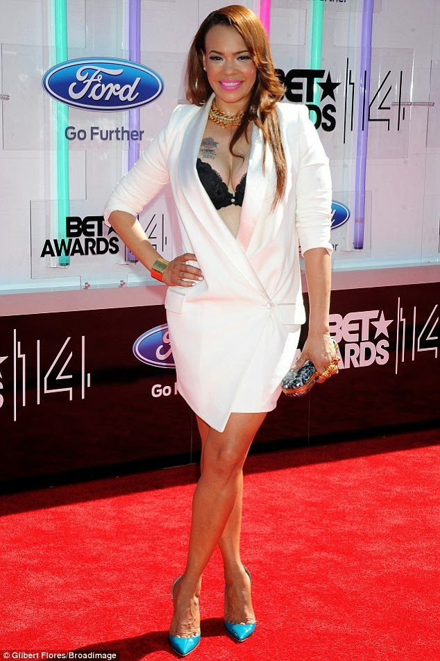 article 2674348 1F40D86C00000578 259 634x952 Red Carpet photos from 2014 BET Awards + Full List of Winners