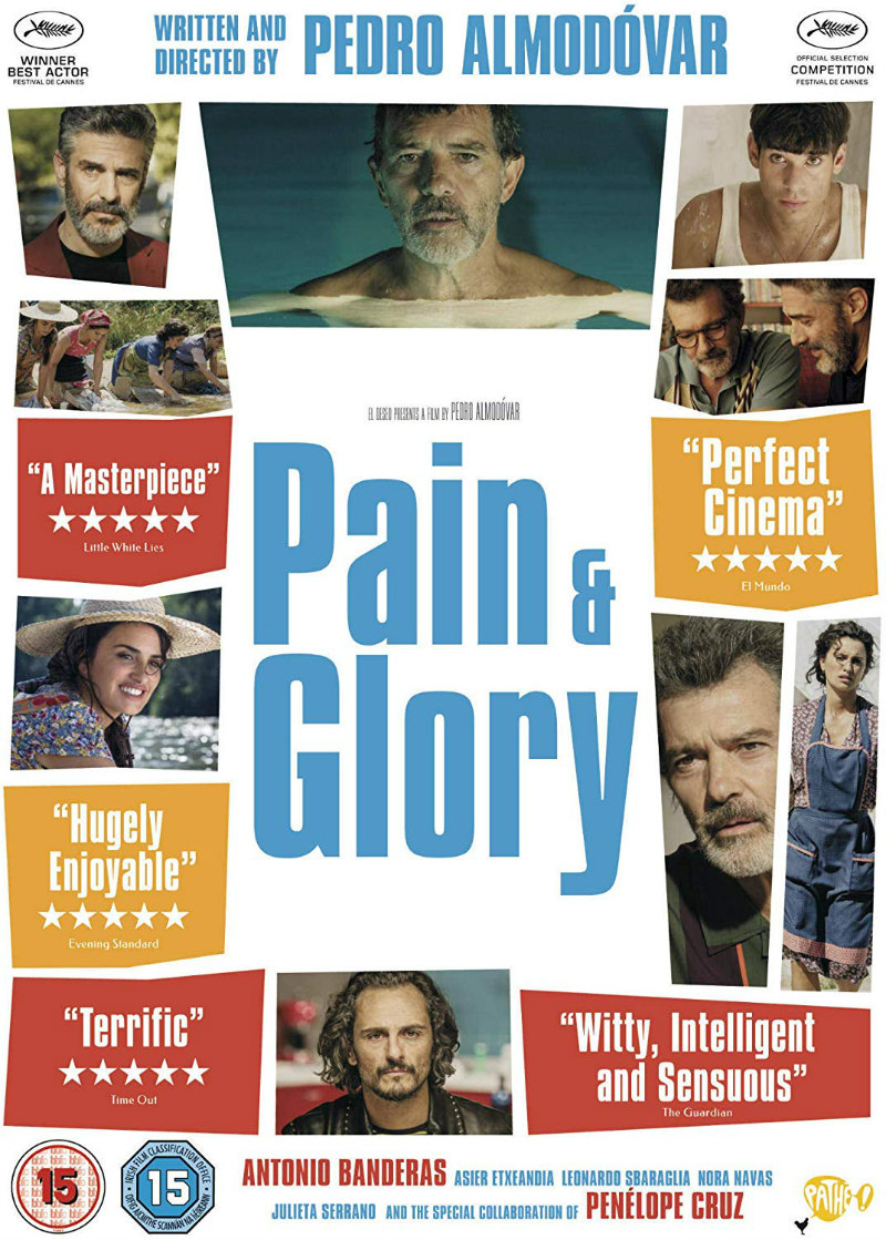 pain & glory dvd