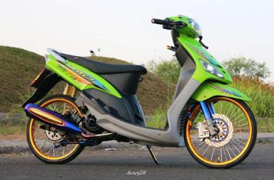 Variasi Velg Jari-jari Motor Mio Sporty