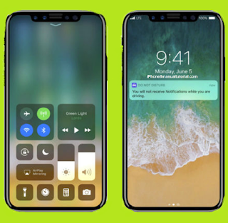 iOS 11 Control Center and App Store
