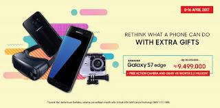 Harga Promo Galaxy S7 edge dengan Gear VR dan Action Camera