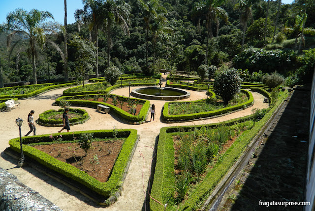 Jardins do Santuário do Caraça