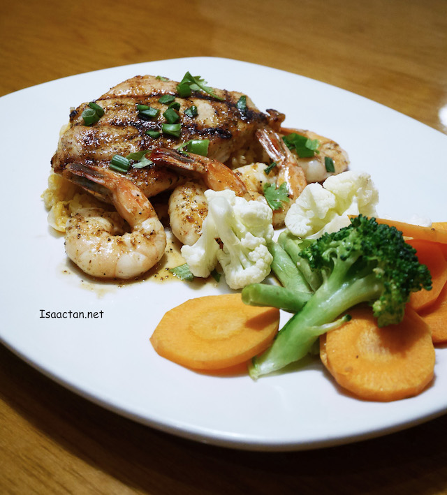Sweet Chilli Chicken and Shrimp - RM34.95