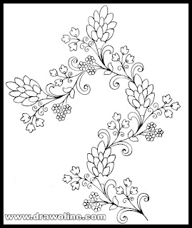 3 Best Embroidery sketches images in 2020/ indan Embroidery design patterns