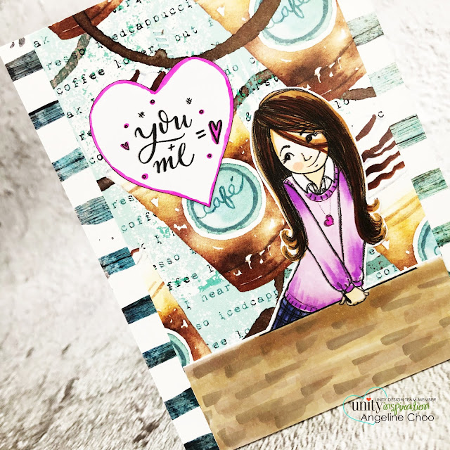 ScrappyScrappy: Cyber Monday with Unity Stamp #scrappyscrappy #unitystampco #stamping #card #cardmaking #youtube #quicktipvideo #cybermonday #coffeelovers #coffeelovingcardmakers #phylisharris #specialtome #copicmarkers #unitystamppaper #youandme