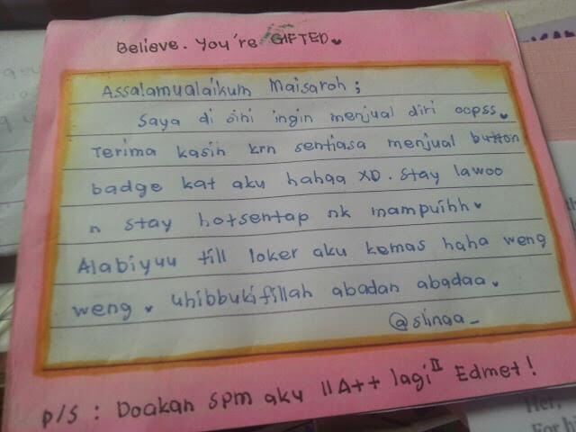 Surat dari kawan