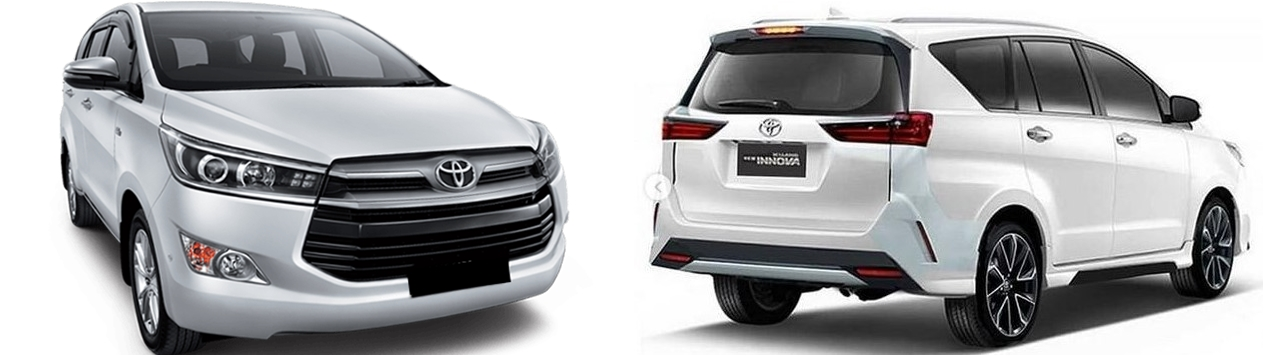 Desain Sewa Mobil Innova Lombok