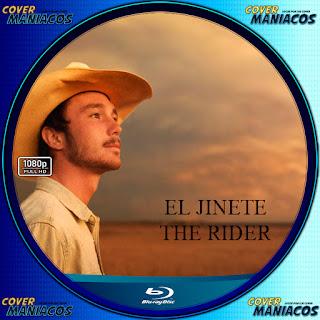 GALLETA LABEL EL JINETE-THE RIDER 2018 [COVER BLU-RAY]
