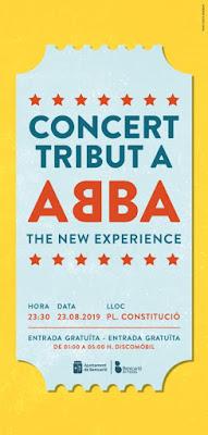 Concierto tributo a ABBA en Benicarló