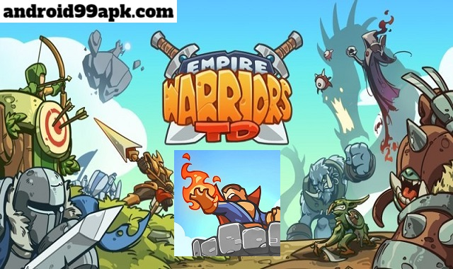 لعبة Empire Warriors TD v2.1.4 مهكرة (بحجم 108 MB) للأندرويد