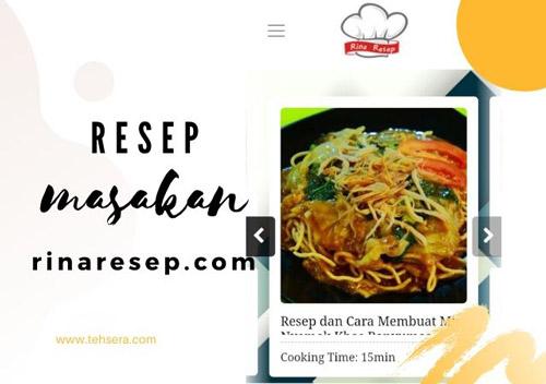 Resep Masakan Rinaresep.com untuk Perempuan Milenial