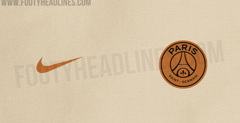 a6248e91120 Exclusive  Paris Saint-Germain 18-19 Away Kit To Introduce Cream   Gold Look