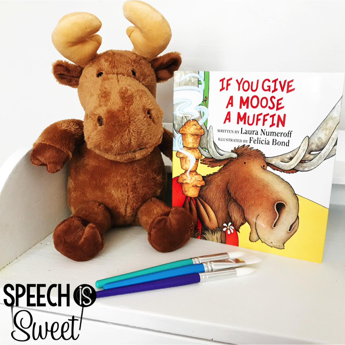 If You Give A Moose A Muffin Ideas For Speech Therapy
