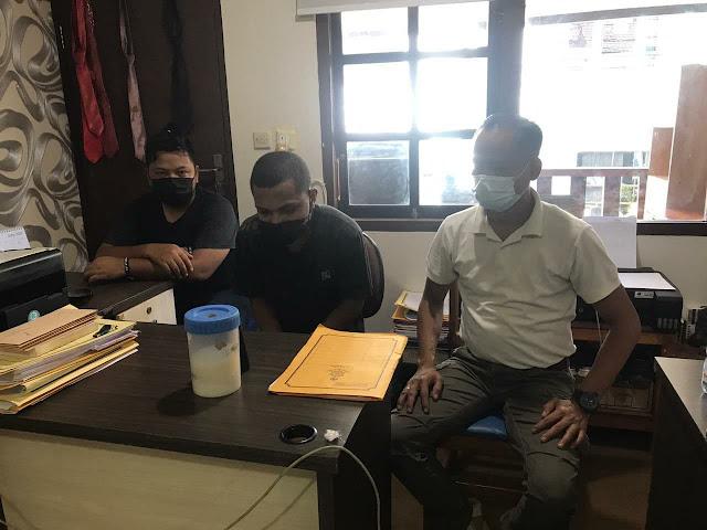 Penyidik Reskrim Polsek Japsel Serahkan Junior Pelaku Curas ke Jaksa Secara Virtual