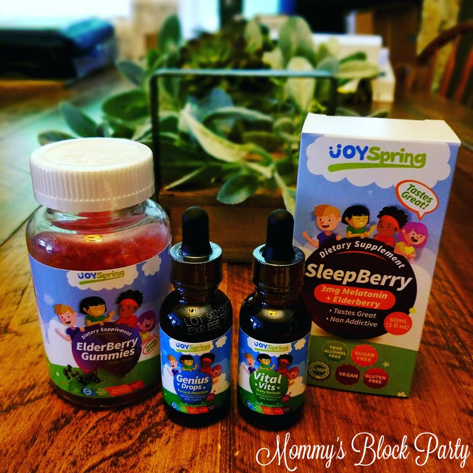 Give Your Kids A Back To School Boost With Joyspring Vitamins