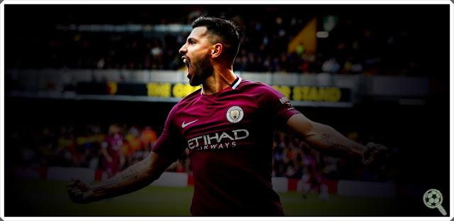 Sergio Agüero Manchester City 2017-18