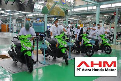 Lowongan Kerja Besar-Besaran PT Astra Honda Motor (AMH) Semua Jurusan Membutuhkan Tenaga Baru Penerimaan Seluruh Indonesia