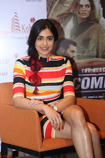 Adha Sharma in a Cute Colorful Jumpsuit Styled By Manasi Aggarwal Promoting movie Commando 2 (144).JPG