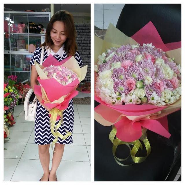 toko hand bouquet di surabaya, hand bouquet surabaya murah, jual hand bouquet murah di surabaya