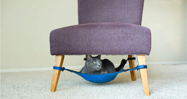Space Saving Cat Hammock