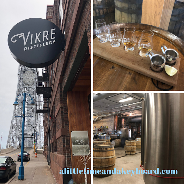 Unique handcrafted spirits at Vikre in Duluth, Minnesota.
