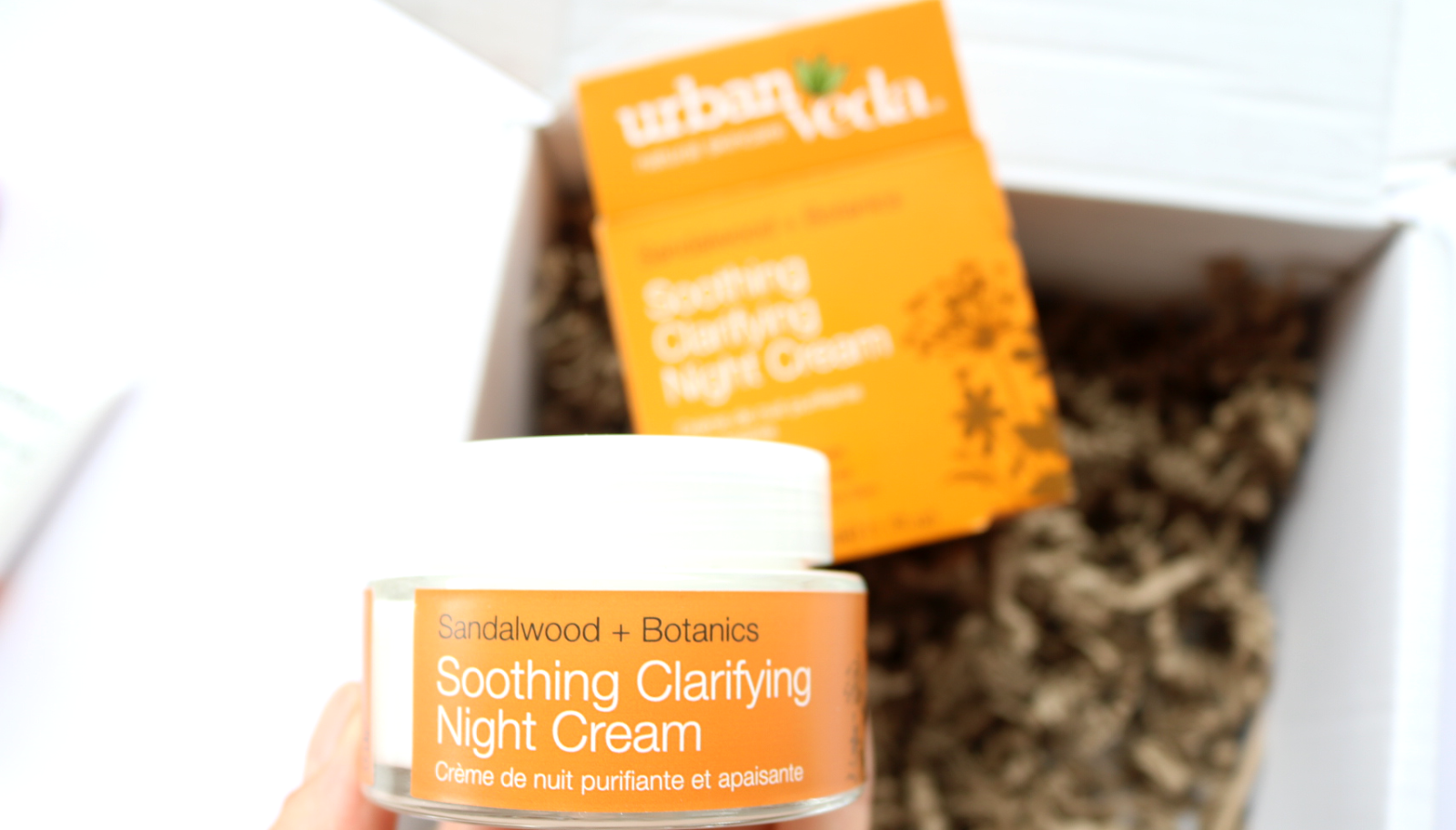 Urban Veda Sandalwood Soothing Clarifying Night Cream