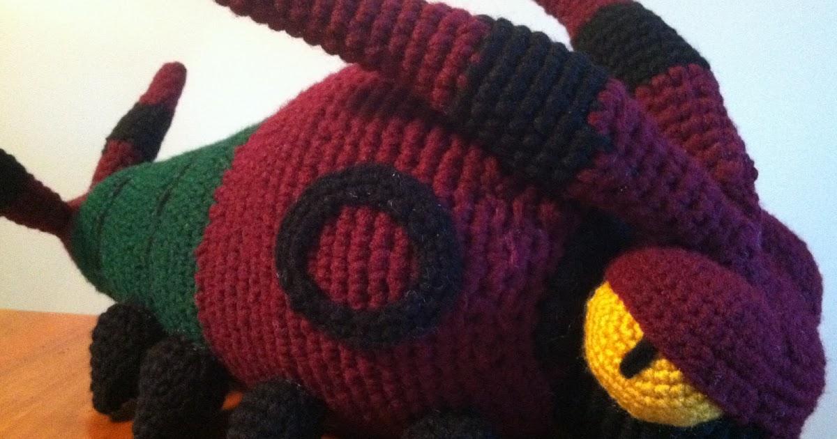 Handmade Crochet Pokemon Plush Toy Spielzeug Scyther gamersjo.com | 630x1200