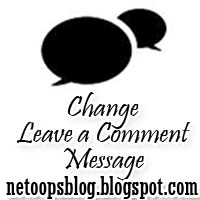 Change Post a Comment text from Blogger
