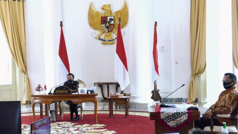 Presiden Jokowi Ingatkan Kepada Daerah: Tetap Fokus Kendalikan Covid-19