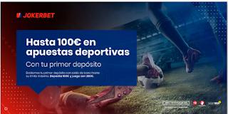 JOKERBET bono bienvenida 100€